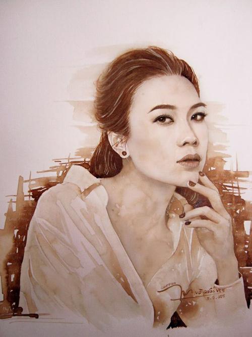 Hoa hậu Thu Thảo, Mỹ Tâm đẹp như thiên thần trong tranh - 3
