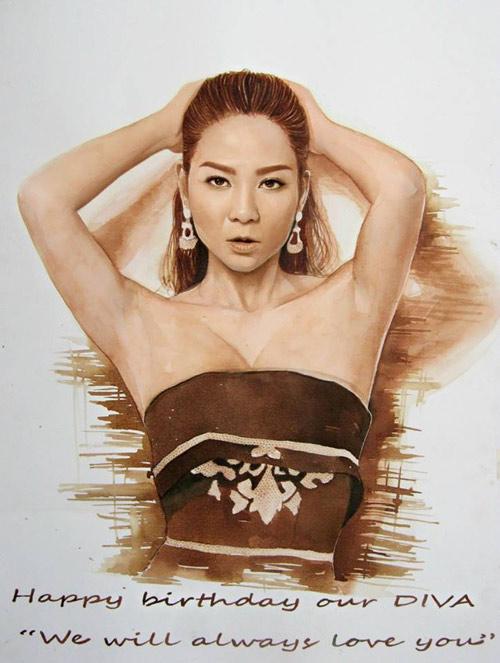 Hoa hậu Thu Thảo, Mỹ Tâm đẹp như thiên thần trong tranh - 11