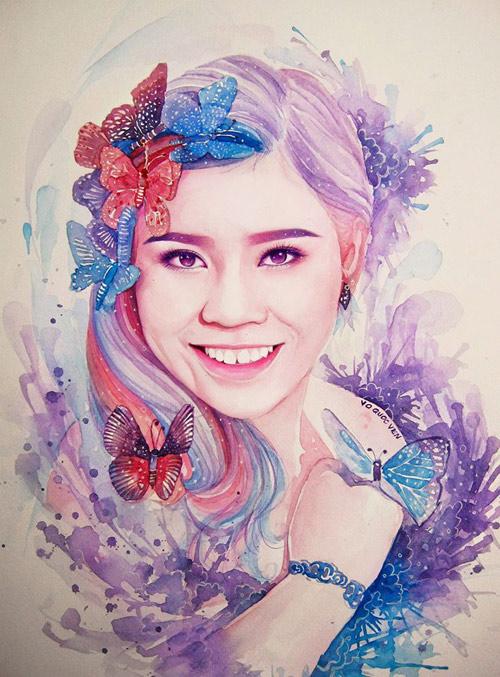 Hoa hậu Thu Thảo, Mỹ Tâm đẹp như thiên thần trong tranh - 17