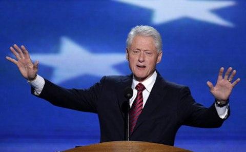 Cựu TT Mỹ Bill Clinton chính thức ra mặt giúp vợ tranh cử - 1