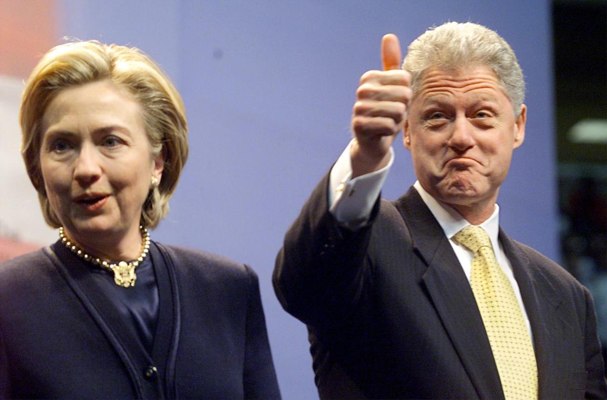 Cựu TT Mỹ Bill Clinton chính thức ra mặt giúp vợ tranh cử - 2