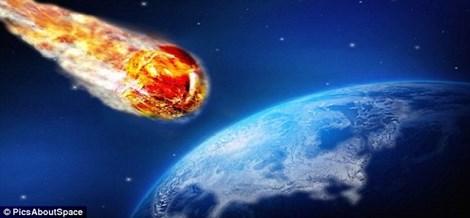 Thiên thạch sượt ngang Trái đất trong ngày Halloween - 1