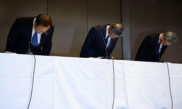 3 doanh nghiệp Nhật liên tiếp thú tội về hành vi gian dối - 1