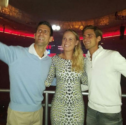 Tin HOT 21/10: Em trai Djokovic đính hôn với Wozniacki? - 1