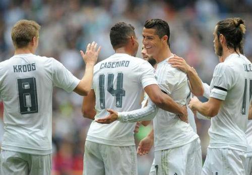 Real độc chiếm top đội hình đắt giá nhất châu Âu - 1