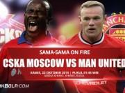 """Bóng đá - CSKA Moscow – MU: """"Đạp tuyết"""" trước derby"""