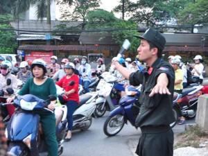 Tin tức trong ngày - Cảnh sát cơ động xuống đường: Ùn tắc có giảm?