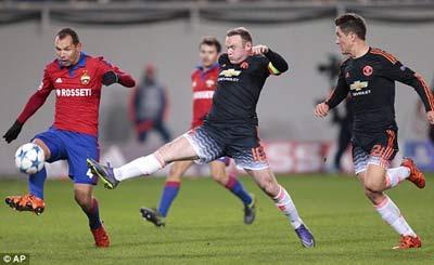 Chi tiết CSKA Moscow - MU: Bộ mặt trái ngược (KT) - 6