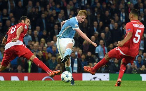 Man City thắng kịch tính, Bruyne được tung hô - 1