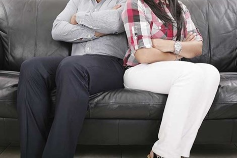 Vợ chồng cãi lộn cũng là nguyên nhân gây tăng cân - 1