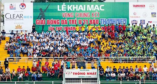 Hình ảnh ấn tượng ngày khai mạc giải U21 Clear Men Cup - 4