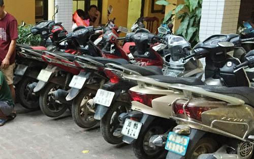 """""""Siêu trộm"""" đột nhập cơ quan Bộ GTVT dắt 7 xe máy trong đêm - 3"""