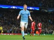 Bóng đá - Man City thắng kịch tính, Bruyne được tung hô