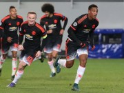 """Bóng đá - Rooney """"ỷ lại"""" công việc ghi bàn cho Martial"""