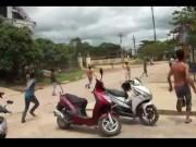 An ninh Xã hội - Ngăn cản băng nhóm đánh nhau, 1 sĩ quan công an hy sinh