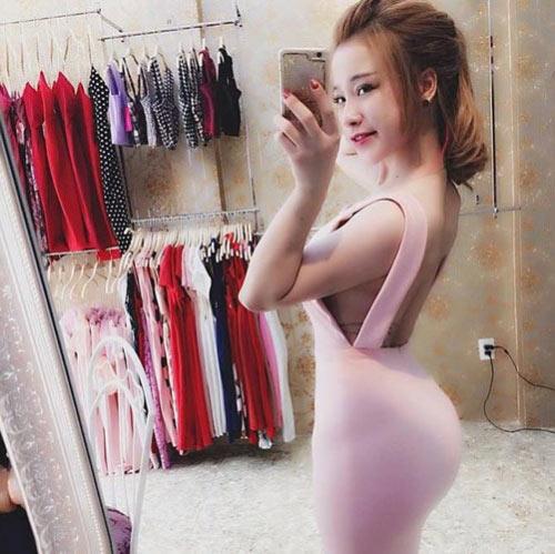 """Cô gái Hà thành được mệnh danh """"hot girl siêu vòng 3"""" - 1"""