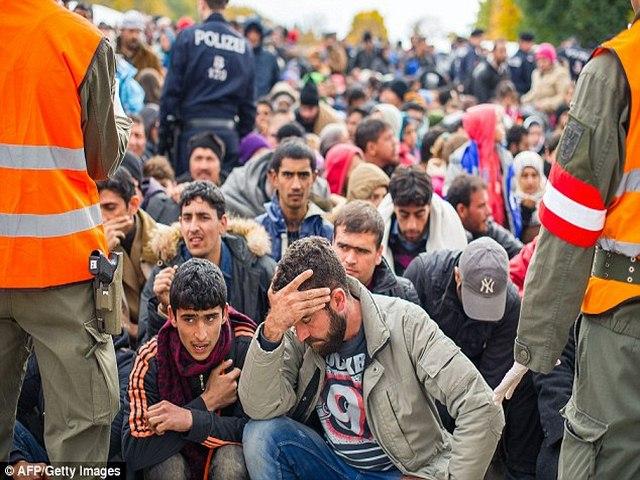 Slovenia dùng xe thiết giáp ngăn 12.000 người nhập cư - 6