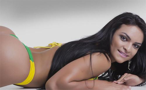 Dàn người đẹp Hoa hậu vòng 3 Brazil cực nóng bỏng - 3