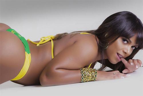 Dàn người đẹp Hoa hậu vòng 3 Brazil cực nóng bỏng - 7