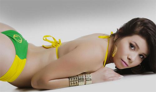 Dàn người đẹp Hoa hậu vòng 3 Brazil cực nóng bỏng - 13