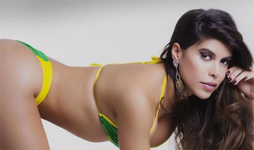 Dàn người đẹp Hoa hậu vòng 3 Brazil cực nóng bỏng - 14