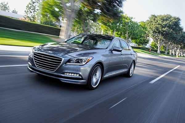 Hyundai Genesis 2016 ra mắt với các tính năng và tùy chọn mới - 1