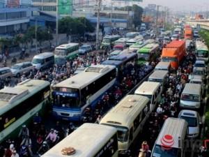 Tin tức trong ngày - TP.HCM: Đề xuất hàng loạt giải pháp để giảm kẹt xe