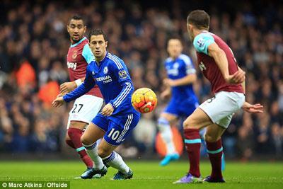 Chi tiết West Ham - Chelsea: Không thể đứng vững (KT) - 3