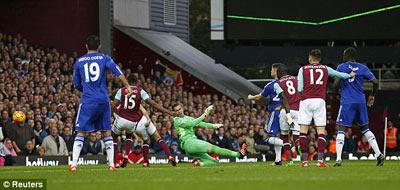 Chi tiết West Ham - Chelsea: Không thể đứng vững (KT) - 9
