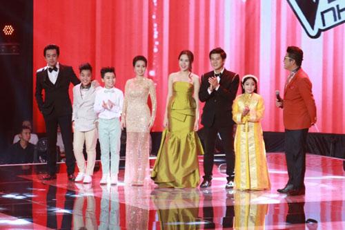 """Công chúa tóc mây"""" Hồng Minh đăng quang The Voice Kids 2015 - 1"""
