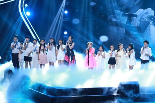 """Công chúa tóc mây"""" Hồng Minh đăng quang The Voice Kids 2015 - 9"""