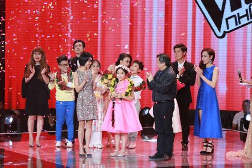 """Công chúa tóc mây"""" Hồng Minh đăng quang The Voice Kids 2015 - 11"""