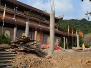 Tin tức trong ngày - Cận cảnh công trình trái phép trong khu di tích Yên Tử