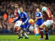 Bóng đá - Chi tiết West Ham - Chelsea: Không thể đứng vững (KT)