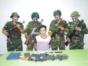 An ninh Xã hội - Bắt người TQ vận chuyển lượng lớn súng đạn vượt biên