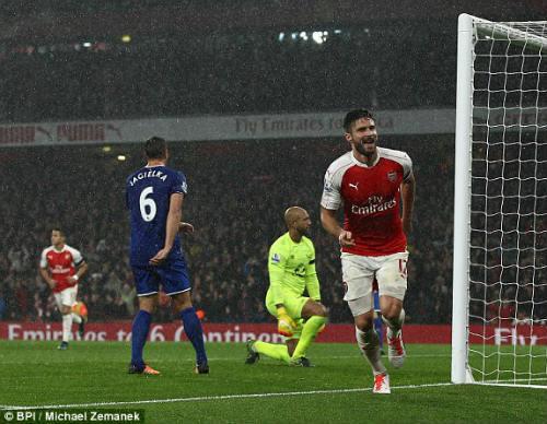 """Arsenal - Everton: Sô diễn của những """"gã khổng lồ"""" - 1"""