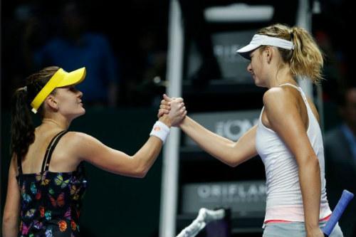 WTA Finals ngày 1: Halep khởi đầu ấn tượng - 1