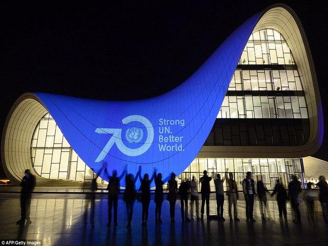 Ảnh: Thế giới kỷ niệm 70 năm thành lập Liên Hợp Quốc - 10