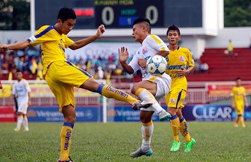 Giải U21 Clear Men Cup: Hà Nội T&T rộng cửa vào bán kết - 1