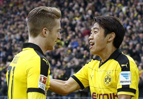 Dortmund - Augsburg: Tưng bừng tiệc bàn thắng - 1