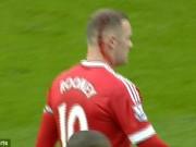 Bóng đá - Lao đầu vào răng Kompany, Rooney đổ máu ròng ròng