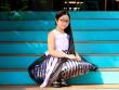 Ngắm mái tóc dài chấm gót chân của Hồng Minh