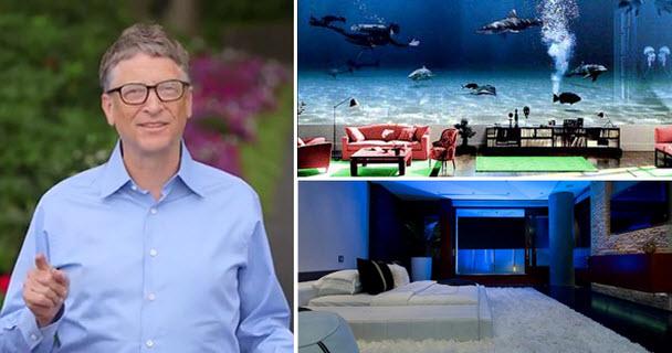 Những bức ảnh hiếm trong nhà của Bill Gates - 1