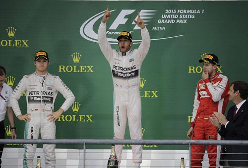BXH United States GP: Ngày trọng đại của Hamilton - 1