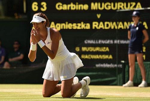 BXH tennis 26/10: Vượt Masha, Muguruza lên số 3 - 1