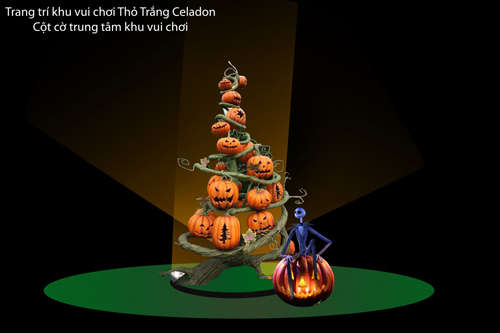 Thỏ Trắng Halloween Party 2015 sắc màu lễ hội hóa trang - 2
