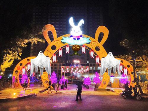 Thỏ Trắng Halloween Party 2015 sắc màu lễ hội hóa trang - 3