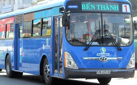 TPHCM đã cho phép quảng cáo trên xe buýt - 1