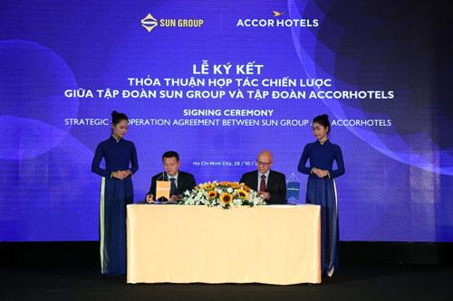 Tập đoàn Sun Group hợp tác chiến lược với tập đoàn quản lý AccorHotels - 2