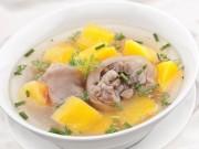 Ẩm thực - Chân giò hầm bí đỏ đơn giản, bổ dưỡng cho bữa cơm tối
